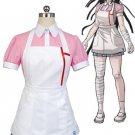 Free Shipping Super Danganronpa 2 Mikan Tsumiki Cosplay Costume Dress