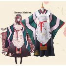 Free Shipping  Rozen Maiden Cosplay Costume Suiseiseki Jade Stern 15th anniversary Dress Custom Made