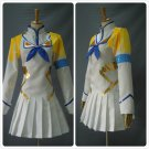 Free Shipping Kill Satsuki Kiryuin White Cosplay Costume Custom Made