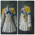 Free Shipping Kill Satsuki Kiryuin White Cosplay Costume Custom Made