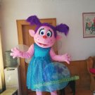 Free Shipping Sesame Street Abby Mascot Costume for Adult Halloween costume
