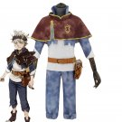 Free Shipping Anime Black Clover Cosplay Costume Asta