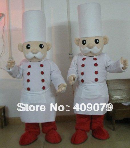 Free Shipping baker chief Mascot costume