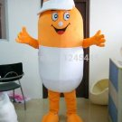 Free Shipping pill medicine mascot costume for adult