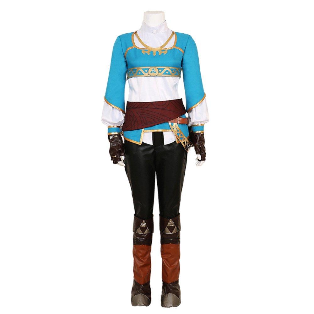 Free Shipping The Legend of Zelda Breath of the Wild Princess Zelda Cosplay Costume Custom Made