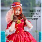 Free Shipping Lovelive Ball Gown Maki Nishikino Awaken Cosplay Costume Party Palace Full Dress
