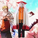 Free Shipping Naruto THE LAST Seventh Hokage Uzumaki Naruto Cosplay Costume