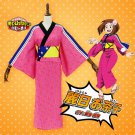 Free Shipping Boku No Hero Academia My Hero Academia Uraraka Ochako Kimono Dress Cosplay Costume