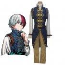 Free Shipping Boku no Akademia Shouto Todoroki Prince My Hero Academia Cosplay Costume