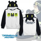 Free Shipping DMMD Dramatical Murder Noiz Fleece Cosplay Costume Hooded Pullover Hoodie Daily Casual