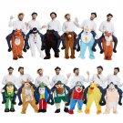 Free Shipping Novelty Oktoberfest men Ride on Me 6 Animal Funny Fancy Dress Unisex Mascot Costume