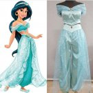 Free Shipping Lamp of Aladdin Princess Jasmine Cosplay Costume Carnaval Halloween Custom Made