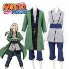 Free Shipping Naruto Tsunade Cosplay Costume Custom Made
