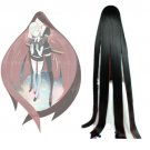 Free Shipping Land of the Lustrous Houseki no Kuni Bort Black Wine Straight Cosplay Wig 59''