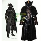 Free Shipping Game Bloodborne The Hunter Black Cosplay costume For Adult Custom Made