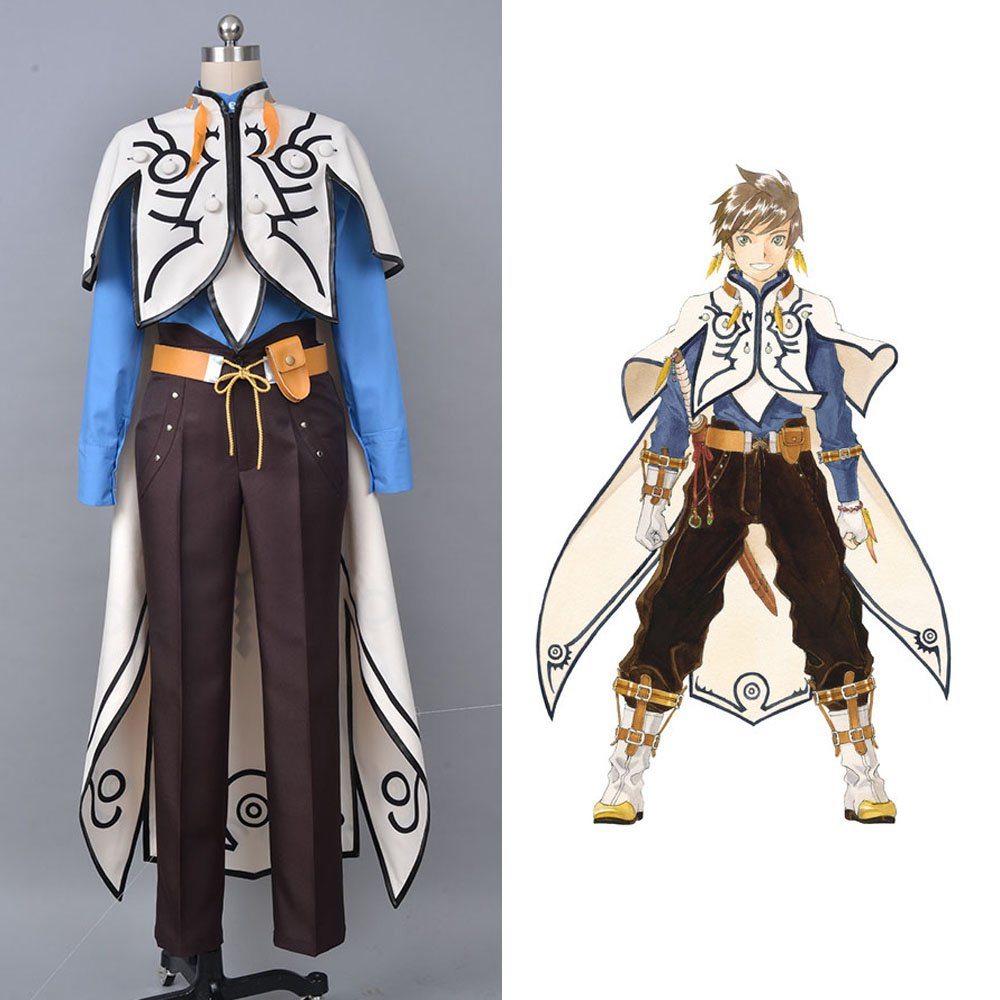 Free Shipping Aselia The Tales Of Zestiria X Sorey Costume Cosplay Costume For Men