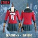 Free Shipping Danganronpa V3 Harukawa Maki JK Girls School Uniform Dress Cosplay costume