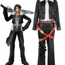 Free Shipping Final Fantasy VIII 8 Squall Lionheart Movie Cosplay Costume Custom Made