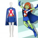 Free Shipping Young Justice Cosplay Costume Miss Martian Costume Halloween Costumes Custom Made