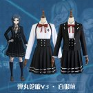 Free Shipping Danganronpa V3 Killing Harmony Shirogane Tsumugi School Uniform Cosplay Costume