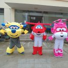 Free Shipping Super Wings Mascot Costume for Halloween Christmas Event