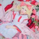 Free Shipping Rozen Maiden Hinaichigo 15th Anniversary Taisho Kimono Lolita cosplay costume