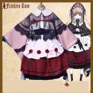 Free Shipping Rozen Maiden Shinku 15th Anniversary Taisho Kimono Lolita cosplay costume