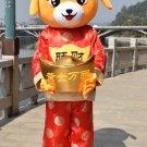 Free Shipping Chinese New Year Dog 3 Mascot Costume Instock