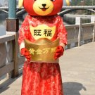 Free Shipping Chinese New Year Dog 3 Mascot Costume Instock