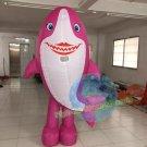 Free Shipping Inflatable Baby Shark Dance Mummy Shark Mascot Costume for Adult Halloween costume
