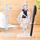 Houseki no Kuni Diamond Acrylic Stand Single Pen container Land of the Lustrous
