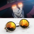 Free Shipping Alucard Vampire Hunter Tailored Dark Cosplay Glasses Sunglasses Prop