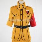 Free Shipping Hellsing Seras Victoria Yellow Cosplay Costume Halloween Costume