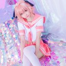 Free Shipping Fate/Grand Order Fate Apocrypha Astolfo Sailor Suit Cosplay Costumes