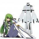 Free Shipping Code Geass: Hangyaku no Lelouch Cosplay Costumes C.C. Cosplay Costume Jumpsuits