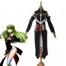 Free Shipping Code Geass Queen CC Cosplay Costume Battle Suit Full Set Custom Made