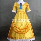 Free Shipping Customized Tarzan Jane Dress Princess Cosplay Costume Dress