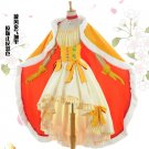 Free Shipping Cardcaptor Sakura King's Uniform Dress Halloween cosplay costume