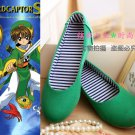 Free Shipping  Cardcaptor Sakura Li Syaoran Cosplay Shoes Custom Made