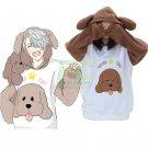 Free Shipping YURI on ICE Victor Makkachin Poodle Cosplay Hoodie Coat Top