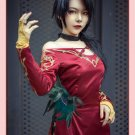 Free Shipping RWBY Cinder Fall Cosplay Costume Halloween Rose Sexy Dress