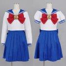 Free Shipping Sailor Moon Cosplay Navy Sailor School Uniform Performance Costumes