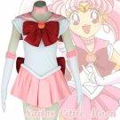Free Shipping Sailor Moon Chibi Usa Nice Bowknot Dress Uniform Outfit Cosplay Costume custom made