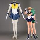 Free Shipping Sailor Moon Haruka Tenoh / Sailor Uranus Cosplay Costume custom made
