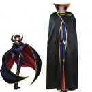 Free Shipping Code Geass Zero Lelouch Cosplay Costume Custom Made