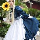 Free Shipping APH Axis Powers Hetalia Maid Belarus Lolita Cosplay Costume Custom Made
