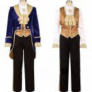 Free Shipping Beauty and the Beast Cosplay Adult Costumes Prince Adam Cosplay  Costume 3