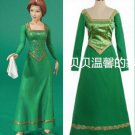 Free Shipping Custom Made Shrek Princess Fiona Dress Costume Anime Cosplay Costume