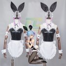 Free Shipping Re Zero Kara Hajimeru Isekai Seikatsu RAM  REM Bunny Girl Maid Dress Cosplay Costume