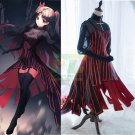 Free Shipping Fate Stay Night Fate/Zero Tohsaka Rin Gothic Cosplay Costume
